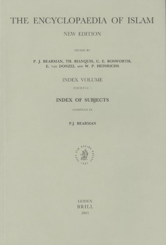 Encyclopaedia of Islam, Index of Subjects (Paperback): Peri Bearman