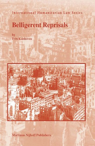 9789004143869: Belligerent Reprisals (International Humanitarian Law)