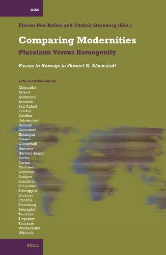 Comparing Modernities: Pluralism Versus Homogenity. Essays in Homage to Shmuel N. Eisenstadt (...