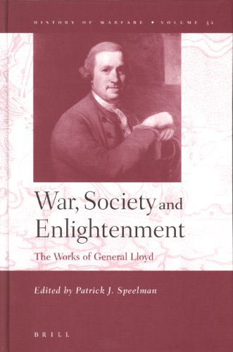 9789004144101: War, Society and Enlightenment: The Works of General Lloyd (History of Warfare 32) (History of Warfare (Brill))