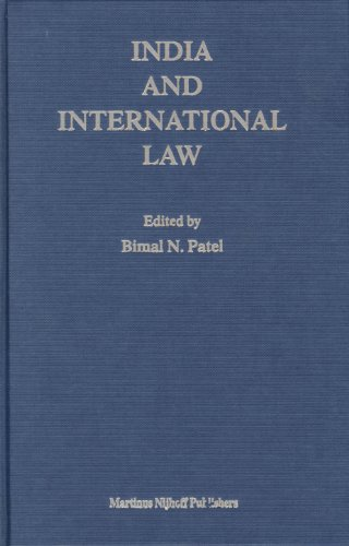 9789004145191: India and International Law