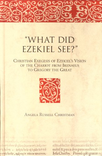 9789004145375: What Did Ezekiel See?: Christian Exegesis of Ezekiel's Vision of the Chariot from Irenaeus to Gregory the Great