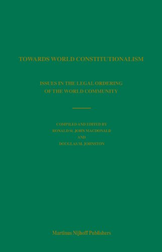 9789004146129: Towards World Constitutionalism