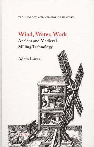 9789004146495: Wind, Water, Work: Ancient and Medieval Milling Technology (Technology and Change in History)