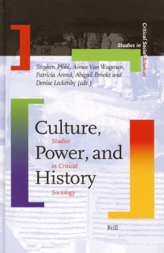 9789004146594: Culture, Power and History: Studies in Critical Sociology (Studies in Critical Social Sciences)