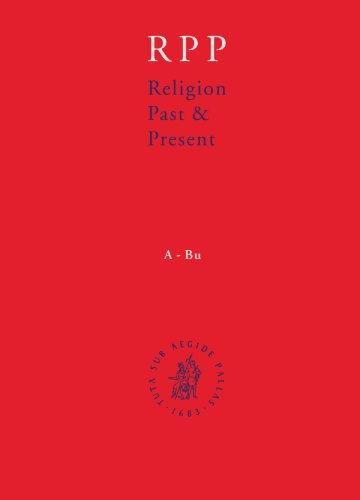 Religion Past and Present (Hardback): Hans Dieter Betz, Don Browning, Bernd Janowski