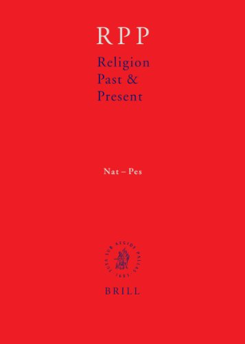 Religion Past and Present Encyclopedia of Theology and Religion: Nat to Pes