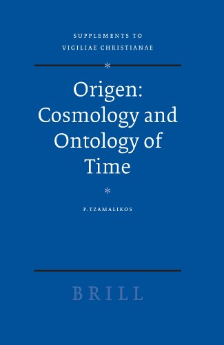 9789004147287: Origen -- Cosmology and Ontology of Time (Vigiliae Christianae, Supplements)