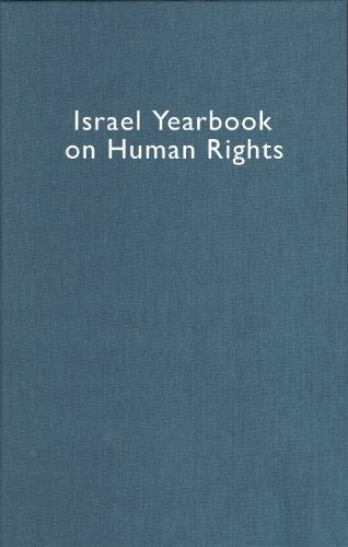 Israel Yearbook on Human Rights, Volume 35 (2005) (Hardback)