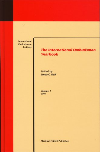International Ombudsman Yearbook 2003 (Hardback)