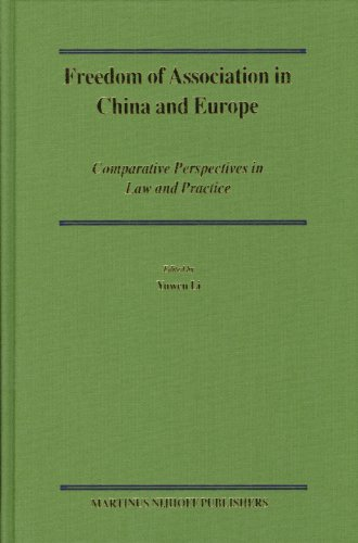 Freedom of Association in China and Europe: Yuwen Li