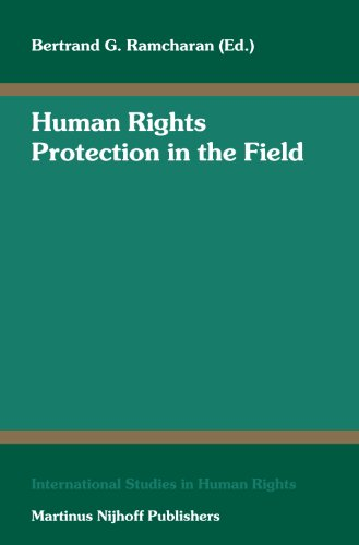 Human Rights Protection in the Field (Hardback)