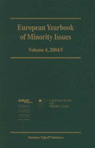 European Yearbook of Minority Issues, 2004-2005 2004-2005 (Hardback)