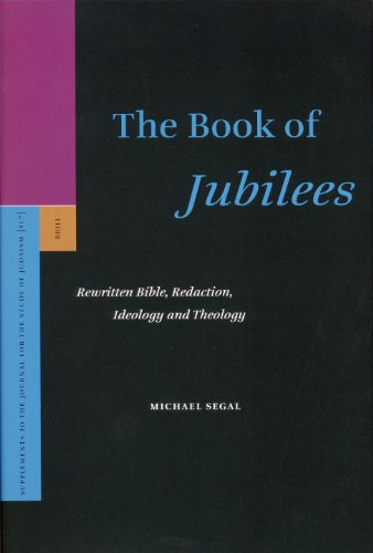 The Book of Jubilees (Supplements to the Journal for the Study of Judaism): M., Segal