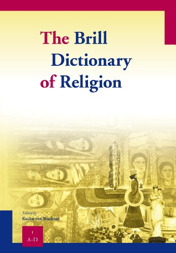 The Brill Dictionary of Religion (Paperback)
