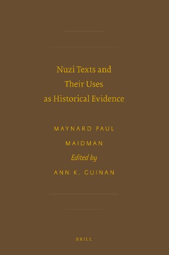 9789004151116: Nuzi Texts and Their Uses As Historical Evidence (Writings from the Ancient World: Society of Biblical Literature)