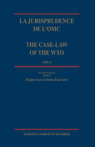 La Jurisprudence de L omc / The Case-Law of the WTO (Hardback)