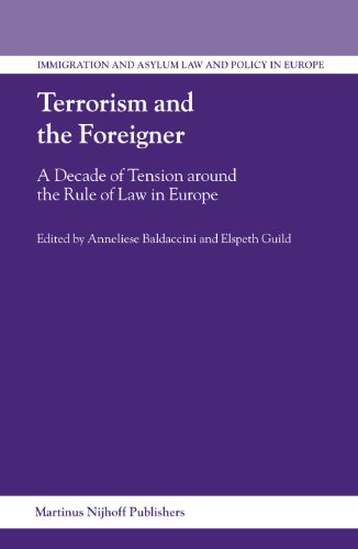 Terrorism And the Foreigner: A Decade of Tension Around the Rule of Law in Europe (Immigration and ...