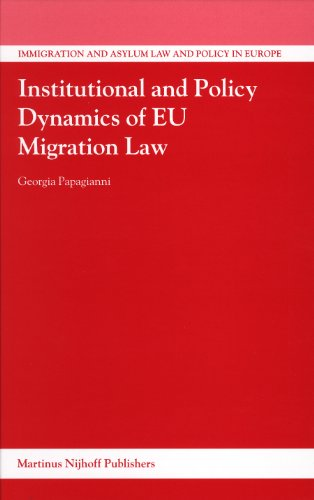 Institutional and Policy Dynamics of Eu Migration: Papagianni, Georgia