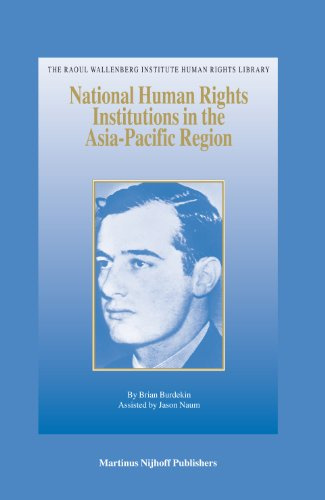 National Human Rights Institutions in the Asia-Pacific Region (Hardback): Brian Burdekin