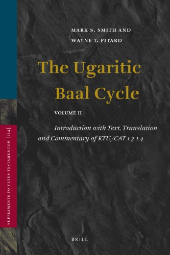 The Ugaritic Baal Cycle: Introduction with Text, Translation and Commentary of Ktu/Cat 1.3-1.4...