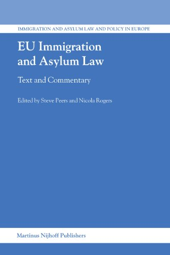 EU immigration and asylum law: text and: Peers, Steve &
