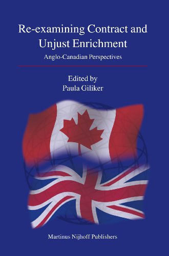 9789004155633: Re-examining Contract and Unjust Enrichment
