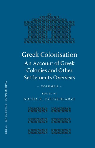 9789004155763: Greek Colonisation, Volume 2: An Account of Greek Colonies and Other Settlements Overseas: v. 2 (Mnemosyne, Supplements)