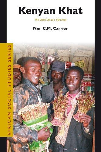 9789004156593: Kenyan Khat (African Social Studies Series)