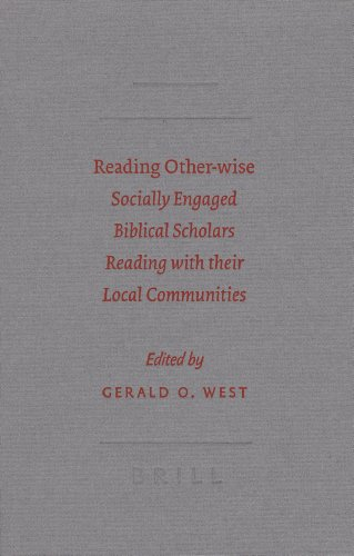 9789004157330: Reading Other-wise (Society of Biblical Literature Semeia Studies)
