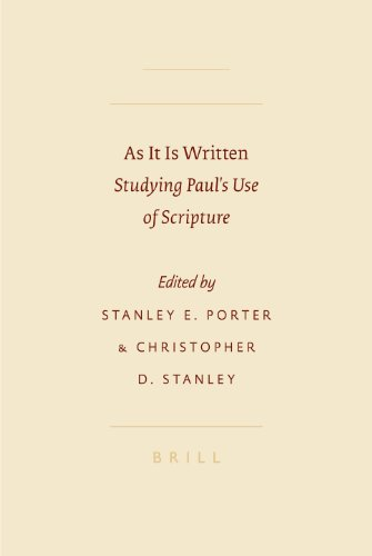 9789004157491: As It Is Written: Studying Paul's Use of Scripture (SBL - Symposium)
