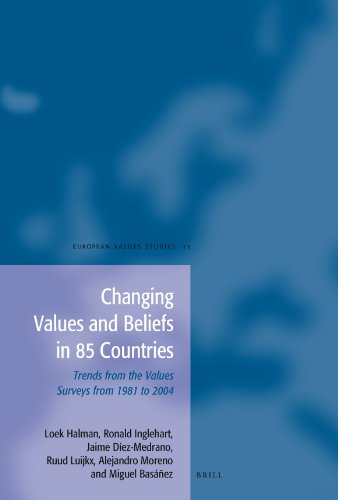 9789004157781: Changing Values and Beliefs in 85 Countries (European Values Studies)