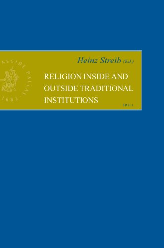 Religion Inside and Outside Traditional Institutions (Hardback): Heinz Streib