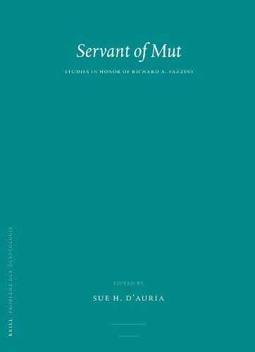 Servant of Mut Studies in Honor of Richard A. Fazzini