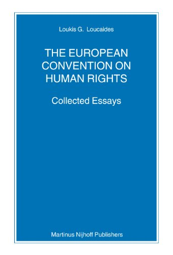 9789004158832: The European Convention on Human Rights (Nijhoff Law Specials)