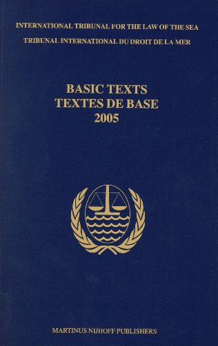 9789004160408: International Tribunal for the Law of the Sea: Basic Texts 2005 (Multilingual Edition)