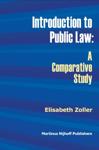 9789004161474: Introduction to Public Law: A Comparative Study