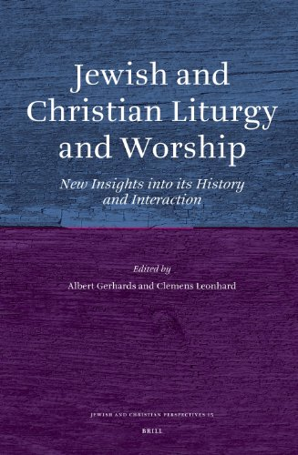 9789004162013: Jewish and Christian Liturgy and Worship (Jewish and Christian Perspectives)