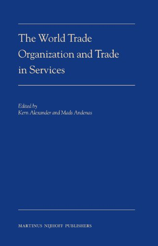 9789004162440: The World Trade Organization and Trade in Services