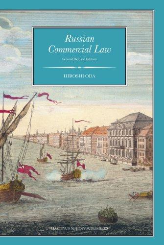 Russian Commercial Law (Hardback): Hiroshi Oda