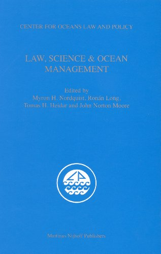 9789004162556: Law, Science & Ocean Management (Center for Oceans Law and Policy)