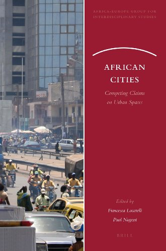 9789004162648: African Cities (African-Europe Group for Interdisciplinary Studies)