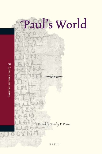 9789004162723: Paul's World (Pauline Studies)