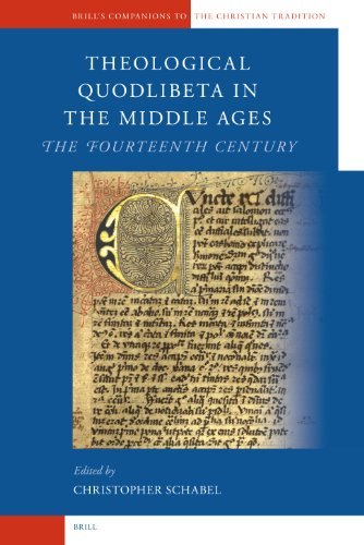 Theological Quodlibeta in the Middle Ages: The Fourteenth Century (Hardback)