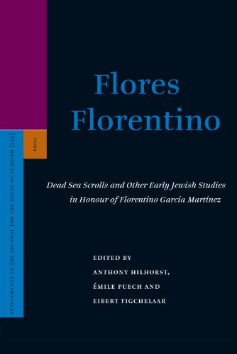 9789004162921: Flores Florentino: Dead Sea Scrolls and Other Early Jewish Studies in Honour of Florentino Garcia Martfnez (Supplements to the Journal for the Study of Judaism)