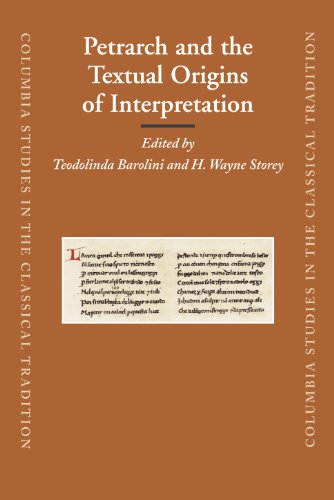Petrarch and the Textual Origins of Interpretation (Hardback)