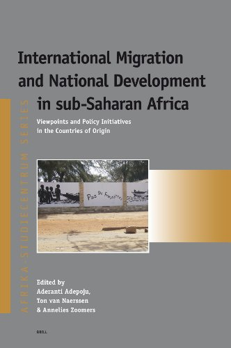 9789004163546: International Migration and National Development in sub-Saharan Africa: Viewpoints and Policy Initiatives in the Countries of Origin (Afrika-Studiecentrum Series)