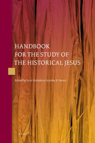 Handbook for the Study of the Historical Jesus (Hardback)