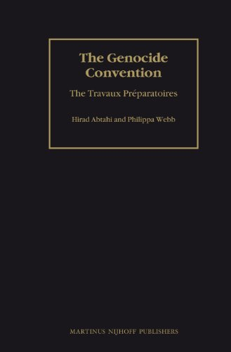 The Genocide Convention: The Travaux Preparatoires (2 vols) (Hardback): Hirad Abtahi, Philippa Webb