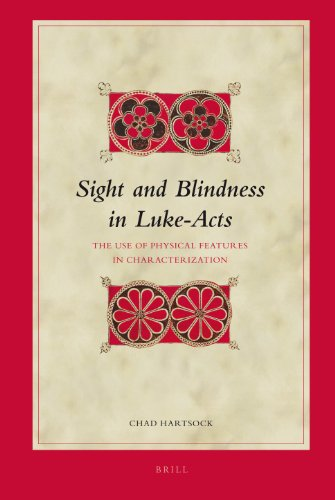 9789004165359: Sight and Blindness in Luke-Acts: The Use of Physical Features in Characterization (Biblical Interpretation Series)